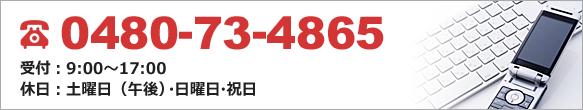 電話番号:0480-73-4865